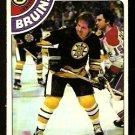 BOSTON BRUINS GREGG SHEPPARD 1978 TOPPS # 18 EX/EM