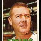MINNESOTA TWINS AL WORTHINGTON 1967 TOPPS # 399 VG