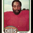 KANSAS CITY CHIEFS MacARTHUR LANE 1976 TOPPS # 184 EX MT