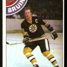 BOSTON BRUINS WAYNE CASHMAN 1978 TOPPS # 124 EX+