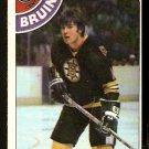 BOSTON BRUINS PETER McNAB 1978 TOPPS # 212 EX