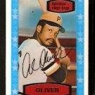 PITTSBURGH PIRATES AL OLIVER 1975 KELLOGGS 3-D SUPER STARS # 15