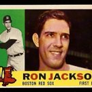 BOSTON RED SOX RON JACKSON 1960 TOPPS # 426 NR MT