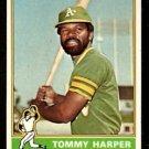 OAKLAND ATHLETICS TOMMY HARPER 1976 TOPPS # 274