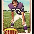 MINNESOTA VIKINGS JEFF WRIGHT 1976 TOPPS # 211 VG