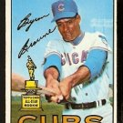 CHICAGO CUBS BYRON BROWNE 1967 TOPPS # 439 VG+/EX
