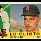 BOSTON RED SOX LU CLINTON 1960 TOPPS # 533 NR MT