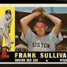 BOSTON RED SOX FRANK SULLIVAN 1960 TOPPS # 280