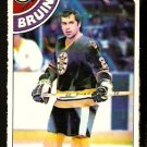 BOSTON BRUINS DON MARCOTTE 1978 OPC O PEE CHEE # 236 NR MT