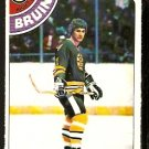 BOSTON BRUINS BOB SCHMAUTZ 1978 OPC O PEE CHEE # 248 NR MT