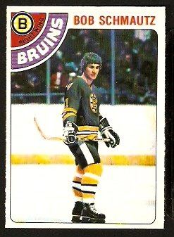 BOSTON BRUINS BOB SCHMAUTZ 1978 OPC O PEE CHEE # 248 NR MT