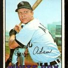 CHICAGO WHITE SOX JERRY ADAIR 1967 TOPPS # 484 fair/good