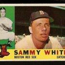BOSTON RED SOX SAMMY WHITE 1960 TOPPS # 203 NR MT