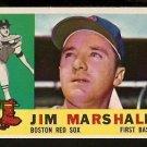 BOSTON RED SOX JIM MARSHALL 1960 TOPPS # 267 NR MT