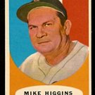 BOSTON RED SOX MIKE HIGGINS 1961 TOPPS # 221 NR MT