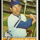 KANSAS CITY ROYALS COOKIE ROJAS 1976 TOPPS # 311 VG