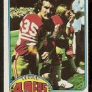 SAN FRANCISCO FORTY NINERS LARRY SCHREIBER 1976 TOPPS # 246 NR MT