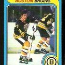 BOSTON BRUINS BOB SCHMAUTZ 1979 OPC O PEE CHEE # 144 EM/NM