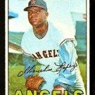 CALIFORNIA ANGELS MARCELINO LOPEZ 1967 TOPPS # 513 good