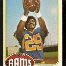 LOS ANGELES RAMS HAROLD JACKSON 1976 TOPPS # 285 EX