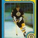 BOSTON BRUINS PETER McNAB 1979 TOPPS # 39 EX