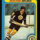 BOSTON BRUINS MIKE MILBURY 1979 TOPPS # 114 EX MT