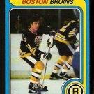 BOSTON BRUINS BOB SCHMAUTZ 1979 TOPPS # 144 NR MT