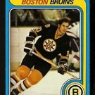 BOSTON BRUINS JEAN RATELLE 1979 TOPPS # 225 NR MT