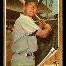 BOSTON RED SOX PETE RUNNELS 1962 TOPPS # 3 EM+