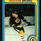 BOSTON BRUINS STAN JOHNATHAN 1979 TOPPS # 263 NR MT