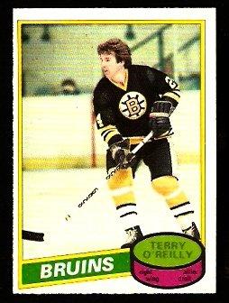 BOSTON BRUINS TERRY O'REILLY 1980 OPC O PEE CHEE # 56 NR MT