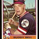 CLEVELAND INDIANS BUDDY BELL 1976 TOPPS # 358 VG/EX