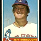 TEXAS RANGERS JEFF BURROUGHS 1976 TOPPS # 360 VG
