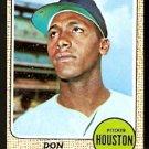 HOUSTON ASTROS DON WILSON 1968 TOPPS # 77 VG