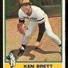 PITTSBURGH PIRATES KEN BRETT 1976 TOPPS # 401 VG/EX