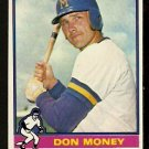 MILWAUKEE BREWERS DON MONEY 1976 TOPPS # 402 VG+/EX