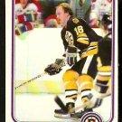 BOSTON BRUINS RICK MIDDLETON SUPER ACTION 1981 OPC O PEE CHEE # 18 NR MT