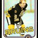 BOSTON BRUINS RICK MIDDLETON 1981 TOPPS # 22 EX MT