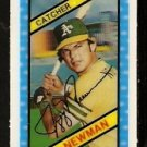 OAKLAND ATHLETICS JEFF NEWMAN 1980 KELLOGGS 3-D SUPER STARS # 7 NM