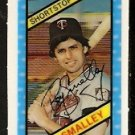 MINNESOTA TWINS ROY SMALLEY 1980 KELLOGGS 3-D SUPER STARS # 13 NM