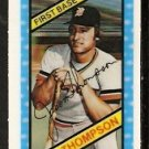 DETROIT TIGERS JASON THOMPSON 1980 KELLOGGS 3-D SUPER STARS # 17 NM