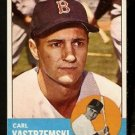 BOSTON RED SOX CARL YASTRZEMSKI YAZ 1963 TOPPS # 115 EX MT