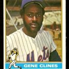 NEW YORK METS GENE CLINES 1976 TOPPS # 417 EX/EM