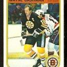 BOSTON BRUINS WAYNE CASHMAN 1982 OPC O PEE CHEE # 8 NR MT