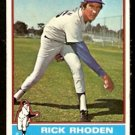 LOS ANGELES DODGERS RICK RHODEN 1976 TOPPS # 439 VG/EX