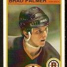BOSTON BRUINS BRAD PALMER 1982 OPC O PEE CHEE # 21 NR MT