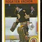 BOSTON BRUINS ROGATIEN VACHON 1982 OPC O PEE CHEE # 23 NR MT