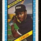 CHICAGO WHITE SOX CHET LEMON 1980 KELLOGGS 3-D SUPER STARS # 46 NR MT