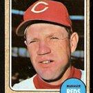 Cincinnati Reds Dave Bristol 1968 Topps # 148
