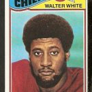 KANSAS CITY CHIEFS WALTER WHITE 1977 TOPPS # 107 EX